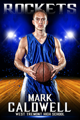 PLAYER BANNER PHOTO TEMPLATE - SPORTS ARENA