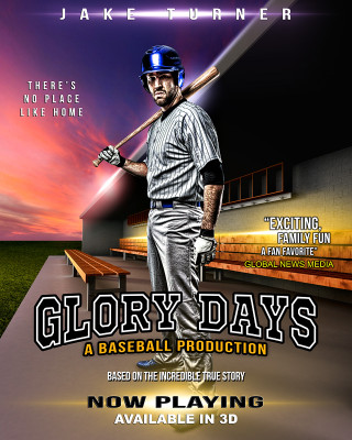 SPORTS POSTER PHOTO TEMPLATE - GLORY DAYS