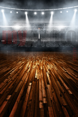 DIGITAL BACKGROUND - BASKETBALL STADIUM II