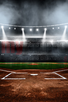 DIGITAL BACKGROUND - BASEBALL STADIUM