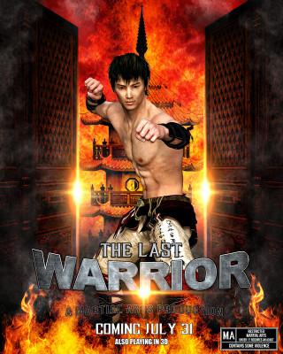 SPORTS POSTER PHOTO TEMPLATE - MARTIAL ARTS