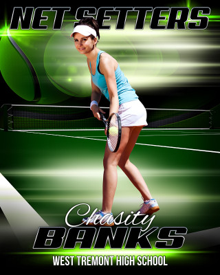SPORTS POSTER TEMPLATE - TENNIS