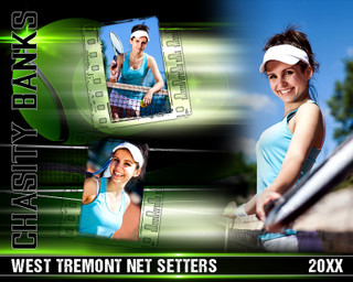 TENNIS PHOTO COLLAGE