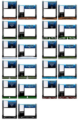 MEMORY MATE PHOTO TEMPLATE COLLECTION - STEEL TOWER