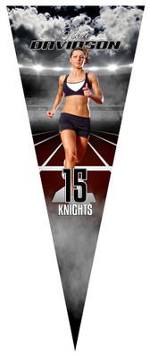 PENNANT PHOTO TEMPLATE - TRACK
