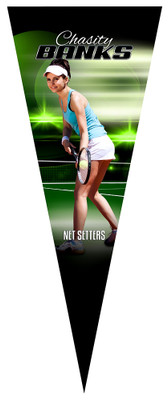 PENNANT PHOTO TEMPLATE - TENNIS