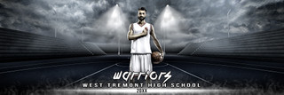 PANORAMIC SPORTS BANNER TEMPLATE - STREETBALL