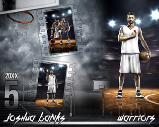 BASKETBALL PHOTO COLLAGE - STREETBALL