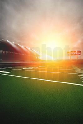 DIGITAL BACKGROUND - FOOTBALL SUNRISE