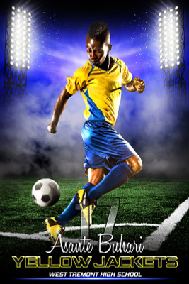 PLAYER BANNER PHOTO TEMPLATE - PRIME TIME SOCCER