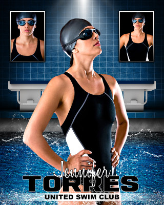 SWIM PHOTO COLLAGE