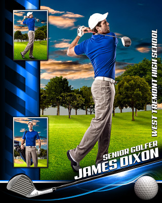 GOLF PHOTO COLLAGE