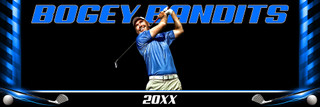PANORAMIC SPORTS BANNER TEMPLATE - GOLF
