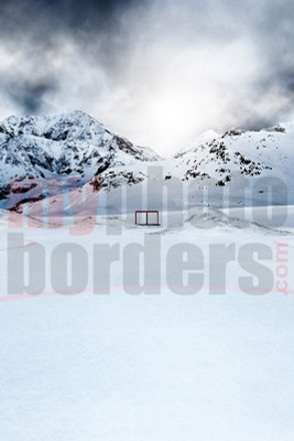 DIGITAL BACKGROUND - ICE HOCKEY