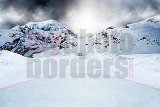 DIGITAL BACKGROUND - ICE HOCKEY - HORIZONTAL