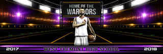 PANORAMIC SPORTS BANNER TEMPLATE - GAME DAY BASKETBALL