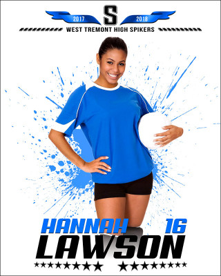 MULTI-SPORT POSTER - SPLASH - PHOTOSHOP SPORTS TEMPLATE