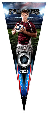 PENNANT PHOTO TEMPLATE - AMERICAN SOCCER