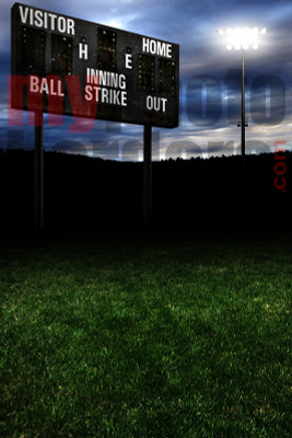 DIGITAL BACKGROUND - HOMETOWN BASEBALL II