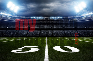 DIGITAL BACKGROUND - AMERICAN FOOTBALL - HORIZONTAL