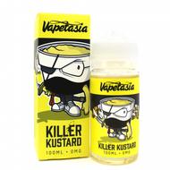 Vapetasia Killer Kustard 100ML E-Juice is a mix of vanilla and custard, reaching a perfect harmony of sweet and savory flavored e-juice. 70/30 VG:PG