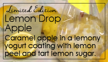 Lemon Drop Caramel Apple
