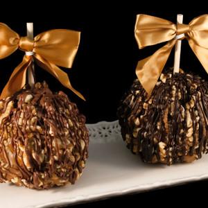 Waldo Walnut Caramel Apple from DeBrito Chocolate Factory