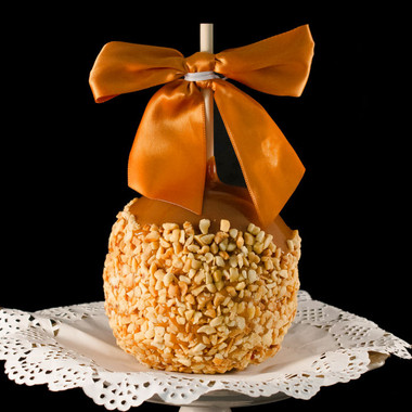 Peanut Tradition Caramel Apple by DeBrito Chocolate Factory