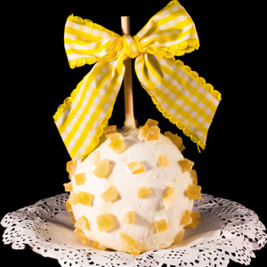 Limited Edition Lemon Drop Caramel Apple from DeBrito Chocolate Factory