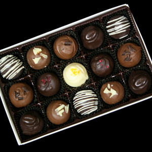 Gourmet Boxed Mini Truffles from DeBrito Chocolate Factory