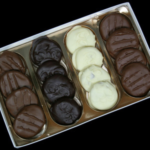 Gourmet Boxed Whole Chocolate Covered California Apricots from DeBrito Chocolate Factory