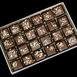 Gourmet Boxed Butter Almond Toffee from DeBrito Chocolate Factory