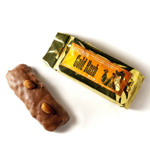 California Gold Rush Bar from DeBrito Chocolate Factory