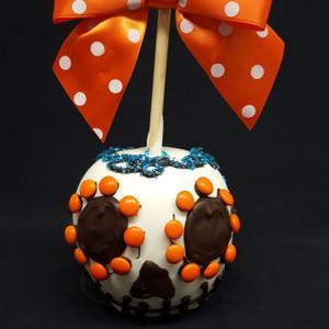 Halloween Dia De Los Muertos Caramel Apple