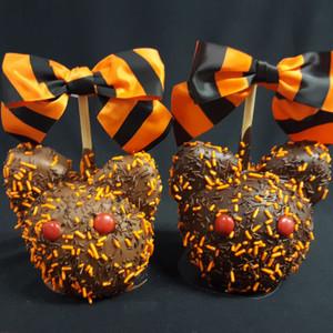 Halloween Purrrrfect Kitty Caramel Apple
