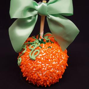 Halloween The Great Pumpkin Caramel Apple