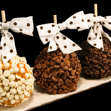 Chocolate Chip Caramel Apple by DeBrito Chocolate Factory