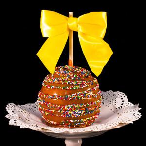 Confetti Caramel Apple form DeBrito Chocolate Factory