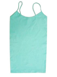 Long Spaghetti Strap Cami Mint