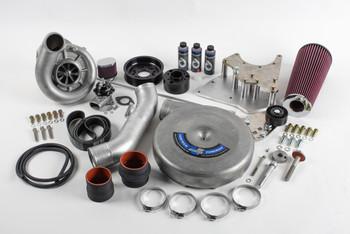 LS Swap Supercharger Kit, Carbureted, V-3, Si-Trim, Black Finish - Vortech Superchargers 4GX218-024L
