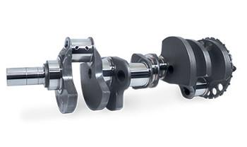 """Scat Forged LS 4.250"""" Stroke Crankshaft 4-LS1-4.250-6000-24 - 24x, 2.100"""" R.J."""