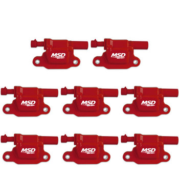 MSD Blaster LS Coils for '05-'13 Engines 82658 - 8-Pack