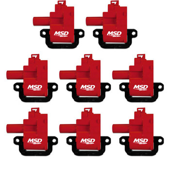 MSD Blaster LS Coils for '98-'06 Engines 82628 - 8-Pack