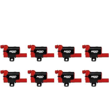 MSD Blaster LS Coils 82638 - '99-'07 L-Series Truck, 8-Pack