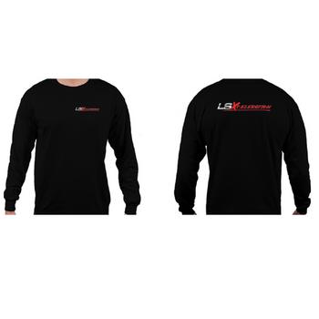 LSXceleration Long Sleeve Black T-Shirt