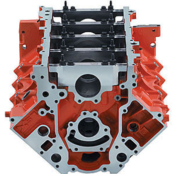 "Chevrolet Performance LSX 9.240"" Deck Iron Bare Block 19260095 - 4.065"" Bore"