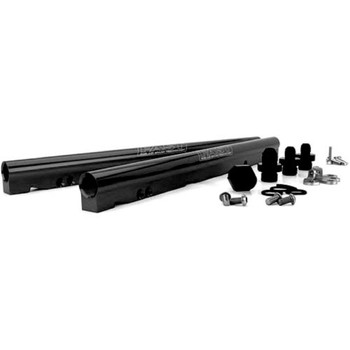 FAST LSXR LS2 Billet Fuel Rail Kit 146033B-KIT - Black