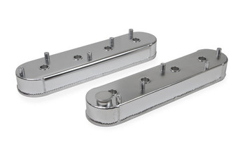 Sniper Fabricated Aluminum GM LS Valve Covers 890014 - Silver