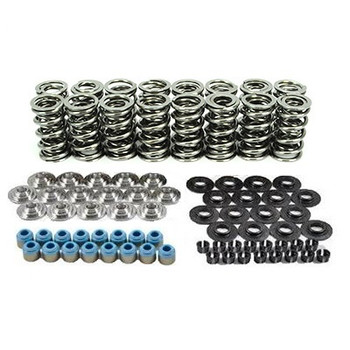 """80540K2TS XceleRate Series Dual Valve Spring Kit - 1.300"""" O.D. x 0.675"""" Max Lift - Tool Steel Retainers - 7 Degree"""