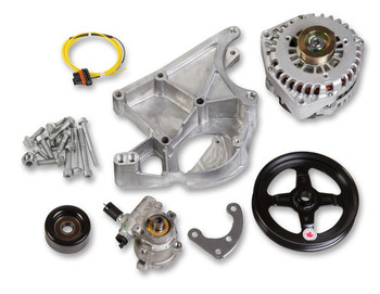Holley LS Alternator & Power Steering Pump Accessory Drive Kit 20-143